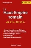 Jérôme France - Le Haut-Empire romain.