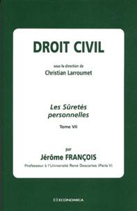 Jérôme Francois - Les Sûretés personnelles.