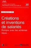Jérôme Frantz - Créations et inventions de salariés - Rompre avec les schémas reçus....