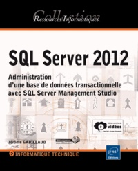 Openwetlab.it SQL Server 2012 - Administration d'une base de données transactionnelle avec SQL Server Management Studio Image