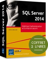 Histoiresdenlire.be SQL server 2014 - Coffret de 2 livres : Maîtrisez l'administration et la mise en oeuvre Image