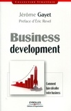 Jérôme Gayet - Business development.