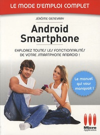 Jérôme Genevray - Android Smartphone.