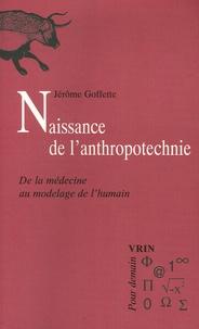 Deedr.fr Naissance de l'anthropotechnie - De la médecine au modelage de l'humain Image