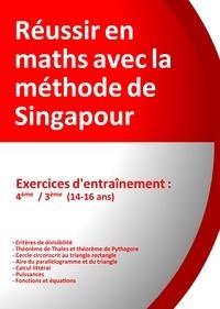 Réussir en maths avec la méthode de Singapour- Exercices d'entrainement 4e/3e, du simple au complexe - Jérôme Henri Teulières   Showmesound.org