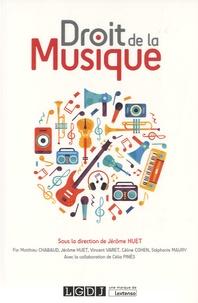 Jérôme Huet - Droit de la musique.