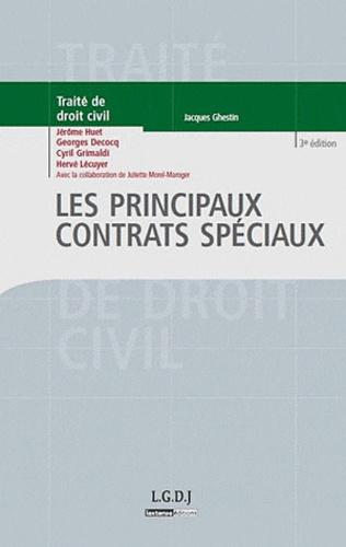 Jérôme Huet et Cyril Grimaldi - Les principaux contrats spéciaux.
