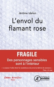 Jérôme Idelon - L'envol du flamant rose.