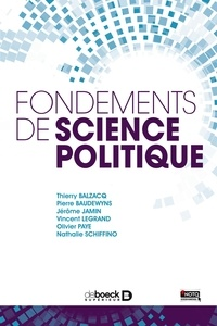 Jérôme Jamin et Thierry Balzacq - Fondements de science politique.
