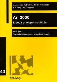 Jérôme Jaquier et François Dessemontet - .