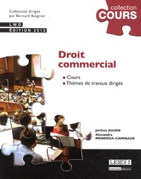 Jérôme Julien et Alexandra Mendoza-Caminade - Droit commercial.