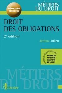 Jérôme Julien - Droit des obligations - Préparation concours.