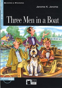 Jerome K. Jerome - Three men in a boat - Step three. 1 CD audio