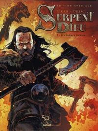 Jérôme Le Gris et Benoît Dellac - Serpent Dieu Tome 1 : Les larmes d'Odin - Edition spéciale 50 ans d'édition.