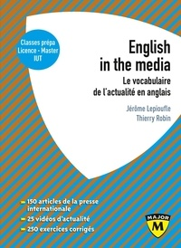 Téléchargement gratuit d'ebooks en grec English in the Media  - Le vocabulaire de l'actualité en anglais
