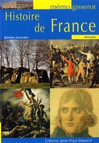 Jérôme Lescaret - Histoire de France.