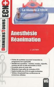 Jérôme Liotier - Anesthésie Réanimation.