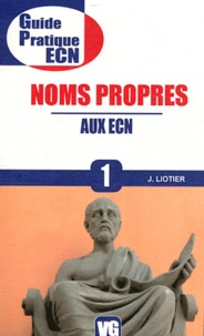Jérôme Liotier - Noms propres aux ECN.