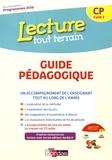 Jérôme Lurse - Lecture tout terrain CP - Guide pédagogique. 1 CD audio