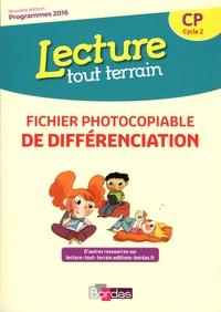 Jérôme Lurse - Lecture tout terrain CP - Fichier photocopiable de différenciation.