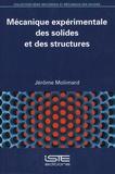 Jérôme Molimard - Mécanique expérimentale des solides et des structures.