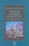 Jerome Murphy-O'Connor - Corinthe au temps de saint Paul - L'archéologie éclaire les textes.