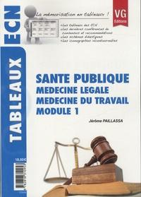 Jérôme Paillassa - Santé publique - Médecine légale, médecine du travail, module 1.
