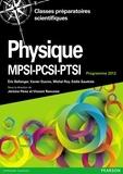Jérôme Perez et Vincent Renvoizé - Physique MPSI-PSI-PTSI - Cours complet et exercices corrigés, Programme 2013.