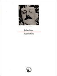 Jérôme Prieur - Proust fantôme.