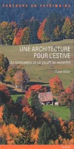Histoiresdenlire.be Une architecture pour l'estive - Les marcairies de la vallée de Munster Image
