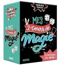 Jérôme Sauloup et Katya Longhi - Mes 2 tours de magie - A construire soi-même ! 2 tours de magie à construire soi-même avec plein de matériel inclus (des confettis, 4 dés, etc.) et 1 livret pas à pas.