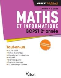 Jérôme Verliat et Stella Visier - Maths et informatique BCPST 2e année.