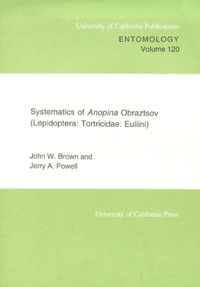 Goodtastepolice.fr Systematics of Anopina Obraztsov (Lepidoptera: Tortricidae: Euliini) Image