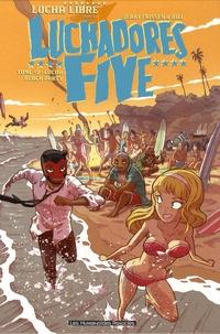 Jerry Frissen et  Bill - Luchadores Five Tome 2 : Lucha Beach Party.