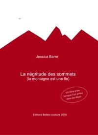 Jessica Barre - La négritude des sommets - (la montagne est une île).