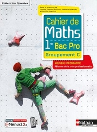 Jessica Estevez-Brienne et Isabelle Delaunay - Cahier de Maths 1re Bac Pro Groupement C.