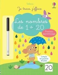Jessica Greenwell et Ailie Busby - Les nombres de 1 à 20 - Avec un feutre à encre effaçable.