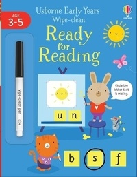 Jessica Greenwell et Allie Busby - Wipe-Clean Ready for Reading - Age 3-5.