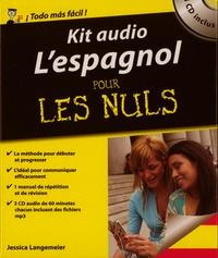 Jessica Langemeier - Kit audio l'espagnol pour les nuls. 3 CD audio