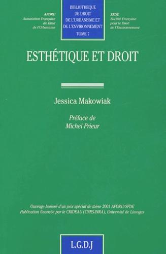 Jessica Makowiak - Esthétique et droit.