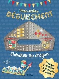 Chevalier au dragon- Avec 1 masque à métalliser + 5 accessoires + 30 cristaux - Jessica Ollivaud |