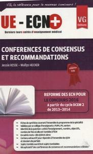 Jessie Risse et Mailys Hecker - Conférences de consensus et recommandations.