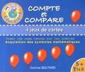 Corinne Boutard - Compte et compare - 4 jeux de cartes.