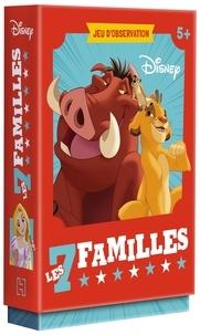 Jeunesse disney Hachette - DISNEY CLASSIQUES - Jeux de cartes - 7 familles.