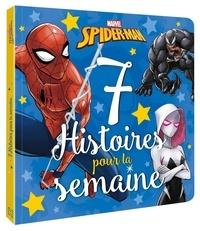 Jeunesse disney Hachette - MARVEL - 7 histoires pour la semaine - Spider-Man - Disney.