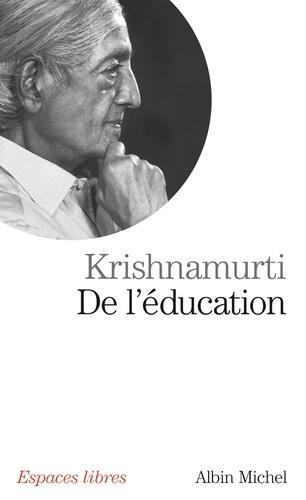 De l'éducation
