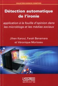 Détection automatique de l'ironie - Application à la fouille dopinion dans les microblogs et les médias sociaux.pdf