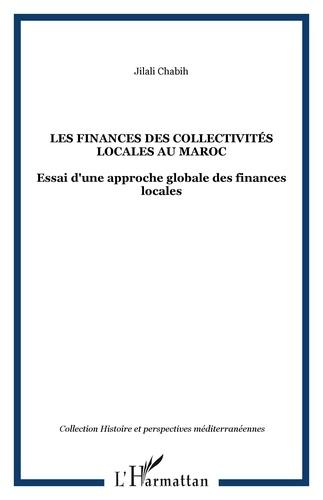 Jilali Chabih - Les finances des collectivites locales au maroc.