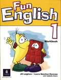 Jill Leighton et Laura Sanchez-Donovan - Fun English 1 - Workbook.