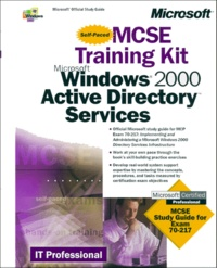 Accentsonline.fr Windows 2000 Active Directory Services. MCSE Training Kit Image